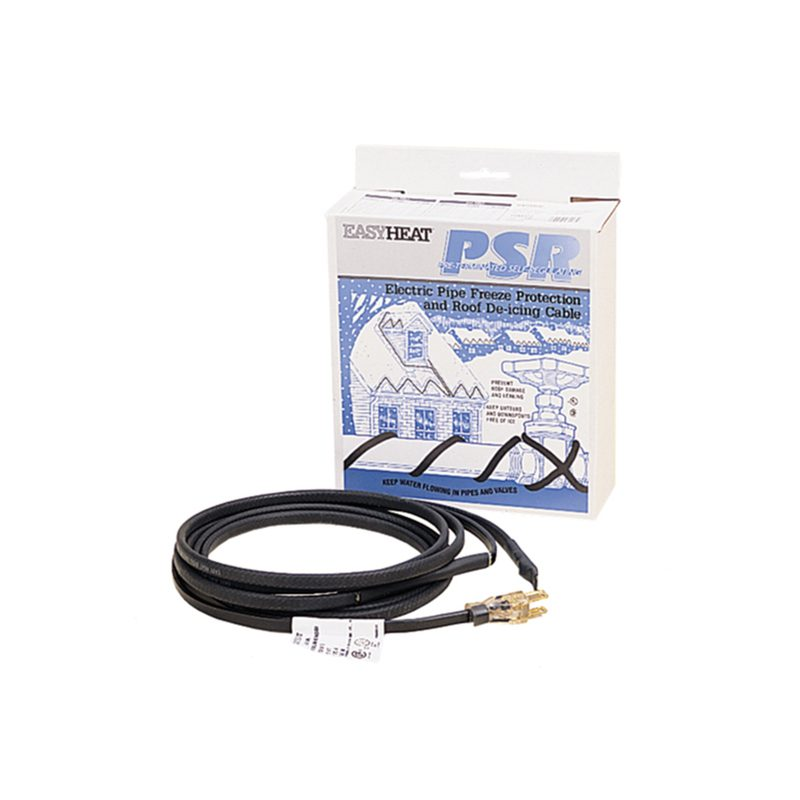 PSR Heat Cables for Frozen Pipes Gutters