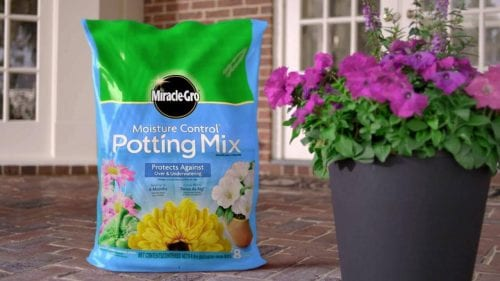 MiracleGro Potting Soil