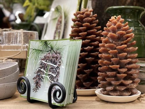 Pine Cone Candles for Autumn