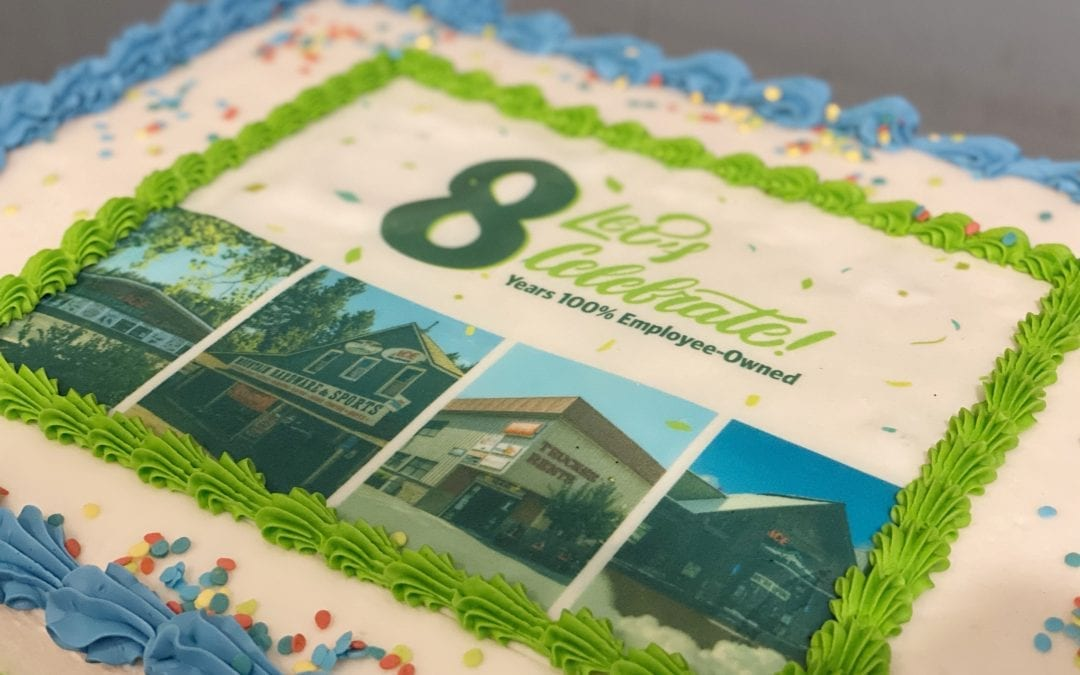 Celebrating Our 8th Year 100% Employee-Owned